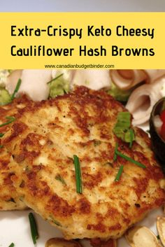 Serves 8 · Keto Extra-Crispy Cheesy Cauliflower Hash Browns are perfect as a snack or part of a breakfast brunch meal with all your favourites like eggs, sausages, bacon and ham. Cheesy Cauliflower, Cauliflower Recipes, Easy Dinner Recipes, Easy Meals, Low Carb Recipes, Healthy Recipes, Milk Recipes, Cheese Recipes, Free Recipes