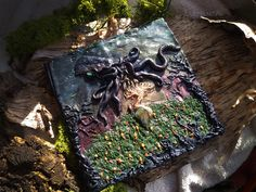 Loss of Innocence - Book of Shadows Journal Spell Book Notebook Witch Book Witchcraft Book Alternative Book Unique Book of Shadows Octopus