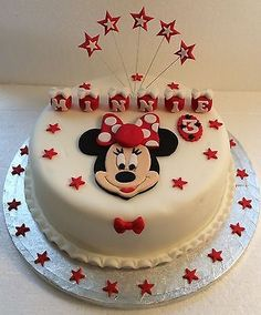 Minnie #mouse cake topper - any name - any #colour - #birthday - christening,  View more on the LINK: http://www.zeppy.io/product/gb/2/272335564354/