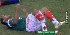 Luis Montes's injury from Mexico's National team.