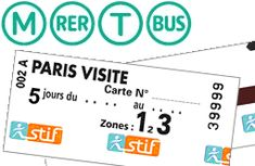 Paris Visite Pass - Transport ticket - Paris Tourist Office