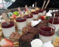 Dessert trays at the @tresemmesa #myvolumerevolution event yesterday.