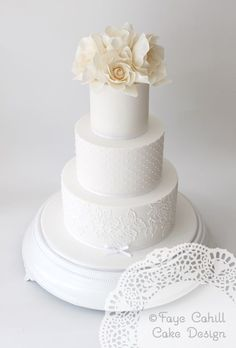 Wedding Cakes  :     Picture    Description  Featured Wedding Cake:Faye Cahill Cake Design;www.fayecahill.com.au; Wedding cake idea.    - #Cake https://weddinglande.com/planning/cake/wedding-cakes-featured-wedding-cake-faye-cahill-cake-design-www-fayecahill-com-au-wedding-6/