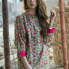Trendy dress for teens pakistani 67 Ideas Stylish Dresses For Girls, Stylish Dress Designs, Dresses For Teens, Simple Dresses, Casual Dresses, Casual Wear, Linen Dresses, Lovely Dresses, Casual Outfits