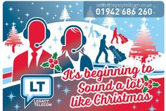 What's happening for Christmas from Legacy Telecom