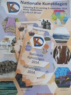 Vrijkaartjes voor de Nationale kunstdagen leg ik donderdag 6 november bij EVEN|OPEN neer. (Oude de Slegte, Breestraat, Leiden)  Voor de liefhebbers...........