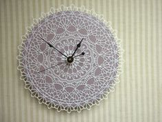 RESERVED doily clock