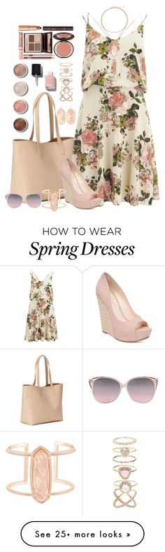 """Summer dress"" by nemesisktn on Polyvore featuring Old Navy, VILA, Jessica Simpson, Kendra Scott, Accessorize, Terre Mère, Charlotte Tilbury and Chanel"