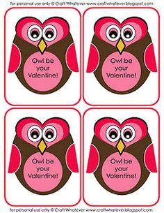 valentines free printable