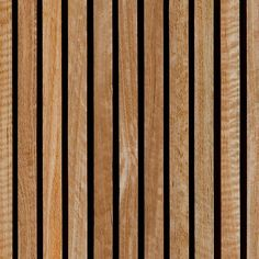 High resolution seamless texture of timber slat wall cladding. The texture can also be used as floor boarding and for timber decks Wood Facade, Timber Cladding, Texture Sketchup, Wood Floor Texture, Cladding Materials, Timber Slats, Slat Wall, Wooden Textures, 3d Warehouse