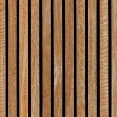 full timber slat texture