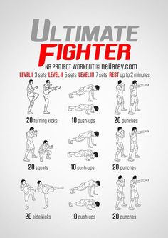 Ufc Workout Plan : workout, Workout, Ideas, Workout,, Routine,