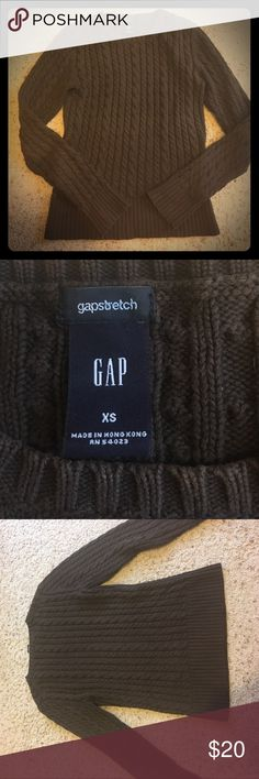 Moving Sale 🚚 XS GAP cotton sweater Super soft! Amazing feel/quality! I LOVE this one but it's too small for me now 😭 Moving and I need to shed some more clothes. No pills or sign of wear. No stretching (but it is a stretchy material....go figure). Will you take this beloved sweater home today? ❤️❤️❤️ GAP Sweaters
