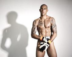 This is Tim Howard...goal keeper for the Men's National Soccer team. He is .... wow!