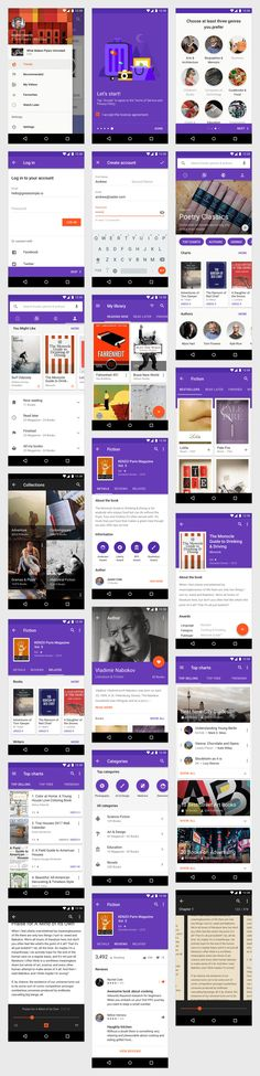 Material Design Kit - App Templates