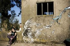 Nontraditional Art: Creation Via Destruction with Vhils | Video http://stupidDOPE.com/?p=339872 #stupidDOPE