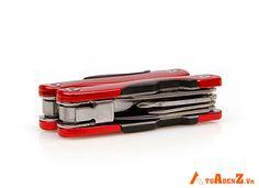 Kềm Đa Năng 9 Món Mini - Chất liệu: Thép không gỉ - Công dụng: Sửa chữa, tháo, vặn, cắt các đồ dụng thông dụng - Màu sắc: Đỏ - Kích thước gấp gọn: 6.5x3 cm - Trọng lượng: 120 gram Giá : 99.000đ