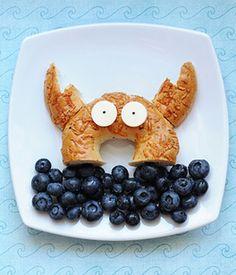 Cute Lunch Idea: A Crabby Sandwich