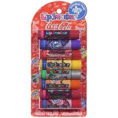 Bonne Bell Coca-Cola Lip Smacker Lip Gloss Party Pack - Walmart.com