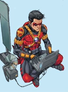 Red Robin (Tim Drake) by Kenneth Rocafort