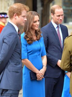 HARRY - KATE - AND WILLIAM SEEM TO GET ALONG SO WELL.......TOGETHER.....ccp