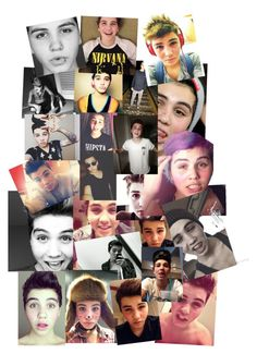"""Sam Pottorff collage"" by montana-cellucci ❤ liked on Polyvore"
