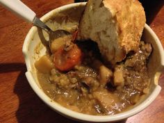 The 21st country on our tour around the world is Ireland. We decided that a nice Irish stew with lamb and Guinness sounded great. I also tried my hand at Irish Soda Bread as well. Hopefully you will enjoy this modern twist on an old favorite!   Gow dty vee dty fondagh! Enjoy Cooking The Globe!  http://cookingtheglobe.wordpress.com/2013/08/05/ireland-irish-lamb-guinness-stew-with-soda-bread/
