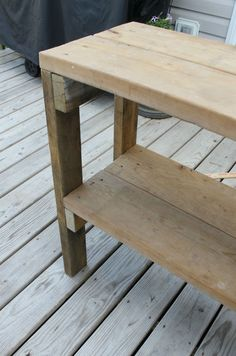 Epic Craftaholics Anonymous Simple Garden Bench
