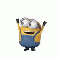The perfect Minion Animated GIF for your conversation. Discover and Share the best GIFs on Tenor. Gif Minion, Minion Dance, Amor Minions, Minions Love, Minions Quotes, Minion Stuff, Funny Minion, Minions Animation, Disney Animation