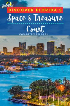 Florida's Space and Treasure Coast are hidden gems just waiting for you to explore. These spots are full of adventure and history, especially Cape Canaveral! Use this for inspiration of where to visit on your next vacation to Florida! #treasurecoast #spacecoast #florida #floridatravel #vacation #adventuretravel Florida Vacation Spots, Florida Travel Guide, Usa Travel Guide, Visit Florida, Florida Usa, Vacation Ideas, Travel Usa, Travel Guides, Travel Tips