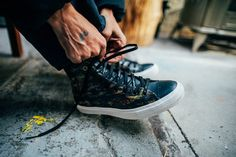 805ac95f4d9748 Behind the Scenes of the Futura Converse Chuck Taylor All Star II as Shot  by 13thWitness