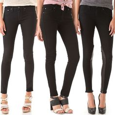 Your Next Jeans' 5 Best Black Jeans Bets for Fall/Winter 2013