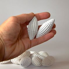 Paper Beads made of corrugated paper