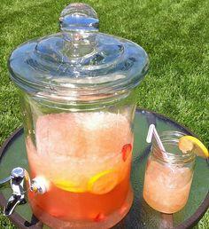 Top Secret Strawberry Lemonade
