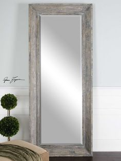 Pewter Floor Standing Mirror from Next | Home - bedroom | Pinterest ...