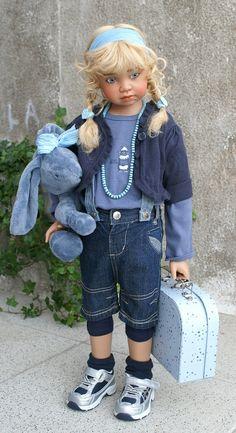 Angela Sutter dolls. Авторские куклы от Анжелы Суттер