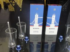 """NESPRESSO (Best): Proving that you don't necessarily need something new to capitalize on the Olympic buzz, Nespresso cleverly repackages existing coffees as a """"gift pack"""" with the Tower Bridge and sells them during the Games as souvenirs."""