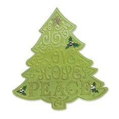 Sizzix Bigz Die w/Bonus Textured Impressions - Tree, Christmas #2 $19.99