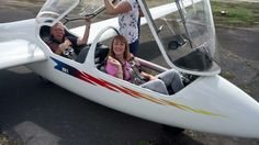 BBC Look North Charlotte Leeming at Burn Gliding Club
