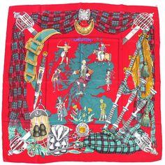 Hermès - Scotland, signé Philippe Ledoux (1963)
