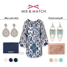 *Boho glam | From morning to evening* Mix and match pastel colors with gold details or navy blue with white for a chic touch at your boho look. Navy Blue, Blue And White, Boho Look, Fashion Story, Spring Summer 2016, Mix N Match, Pastel Colors, Touch, Chic