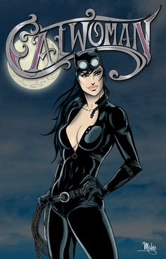 Catwoman by *MikeMahle on deviantART