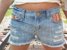 Sassy Serape Shorts