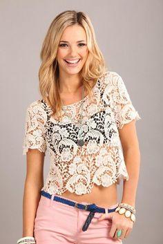 Um $2! daisy crochet lace   Cotton On