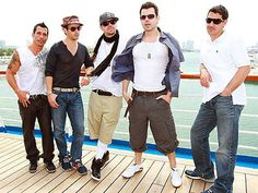 People Magazine  New Kids on the Block  Photo by Ralph Notaro/NDM Images