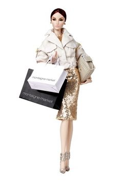 The Jason Wu designed doll for Montaigne Market. Limited edition of 250 dolls; to be released February 2014 for Paris fashion Week.
