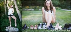 Dancer senior pictures with dance shoes http://amyhirschiphotography.blogspot.com