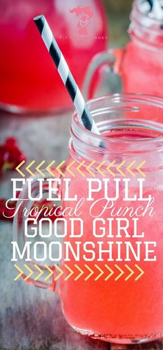 Check that craving for a fruity drink and try this Trim Healthy Mama Tropical Punch Good Girl Moonshine - you won't be disappointed! - Fit Mom Journey http://fitmomjourney.com/trim-healthy-mama-tropical-punch-good-girl-moonshine/
