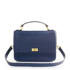 Nwt J.Crew Edie Purse Navy