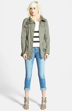 40284c0d3cff GUESS Belted Utility Jacket
